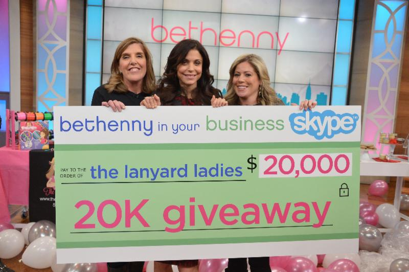lanyard ladies on bethenny