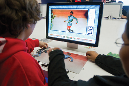 animation station at museum of the moving image nyc