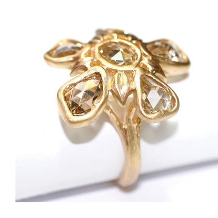 Little King Jewelry exquisitely hand-carved, floral-inspired ring