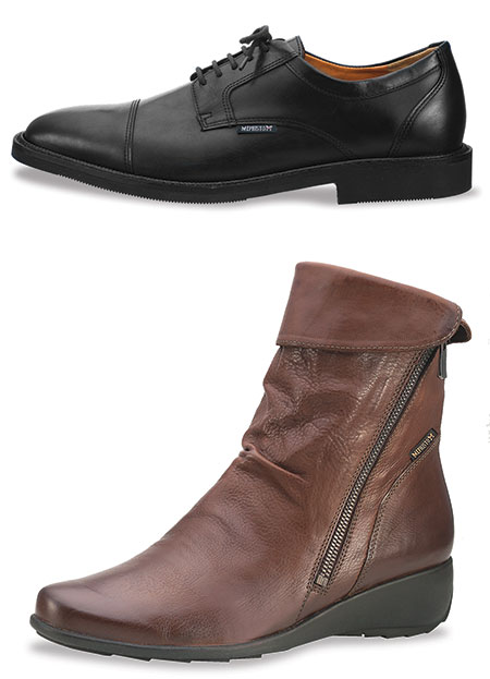 Poley and Seddy shoes from Mephisto