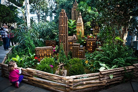 All Aboard the Holiday Train Show at the New York Botanical Garden