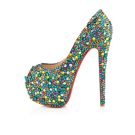 Highness Strass shoes by Christian Louboutin
