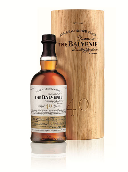 Balvenie 40 year old single malt