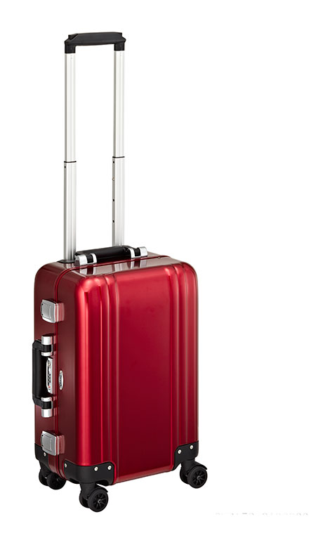 Zero Halliburtion Classic Aluminum Carry-On Four-Wheel Spinner Travel Case