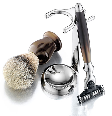 Horn Shaving Set from the Art of Shaving