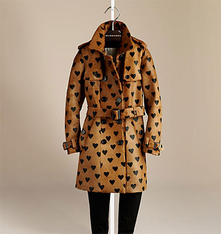Burberry calfskin trench