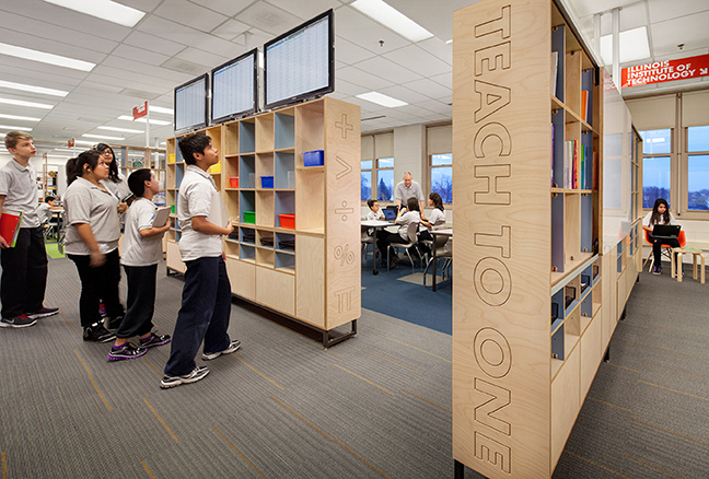 Innovative Classroom Approach : New classrooms