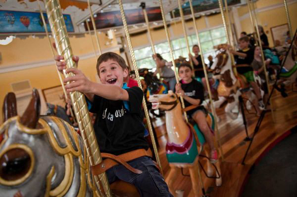 nunleys carousel kids ride