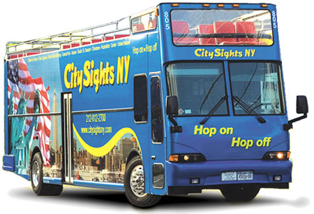 CitySights Bus tours of NYC