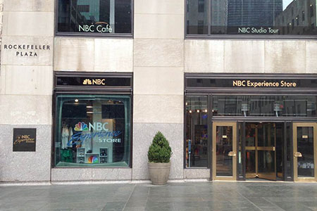 NBC Experience Store at Rockefeller Center, NYC
