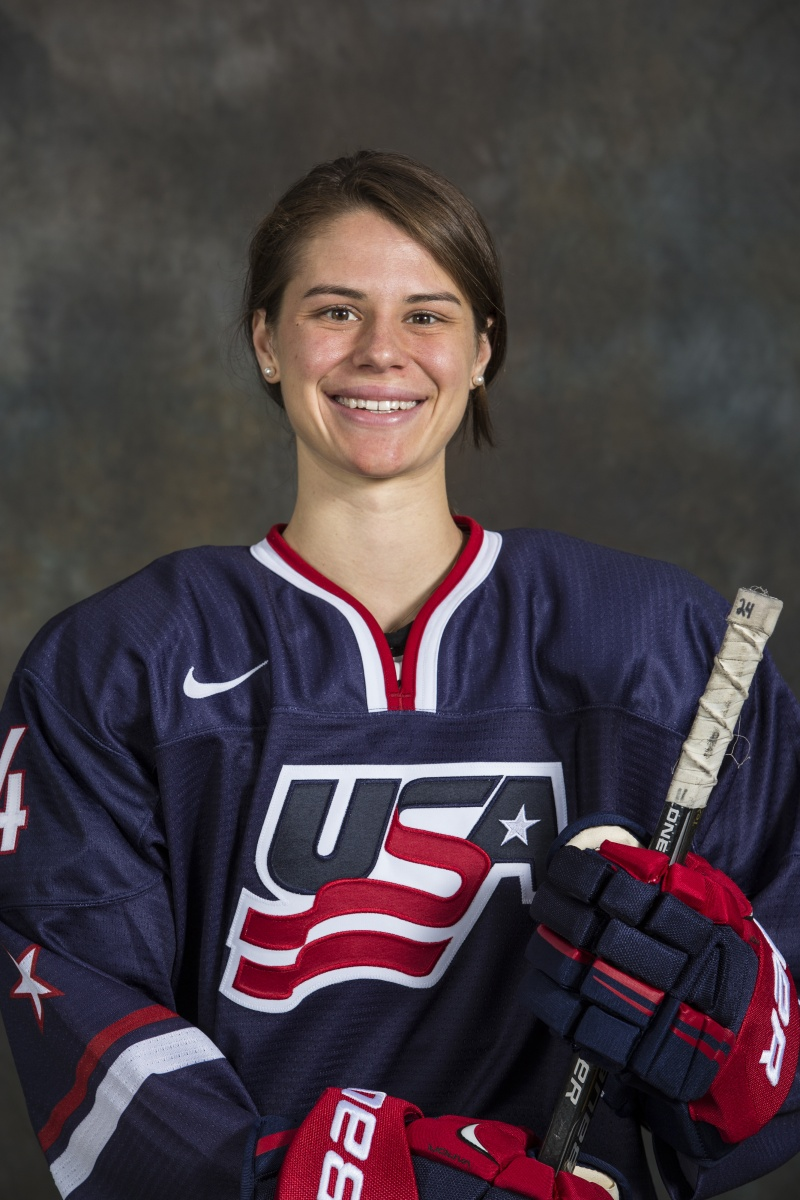josephine pucci, 2014 team usa women's hockey