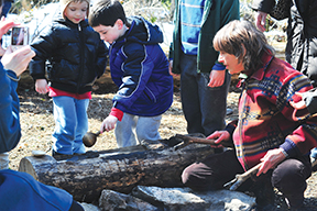 maple sugaring party at greenburgh nature center ny