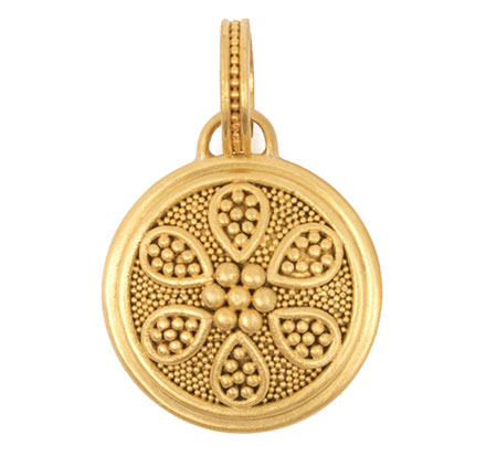 Grecian Flower Pendant from Reinstein/Ross