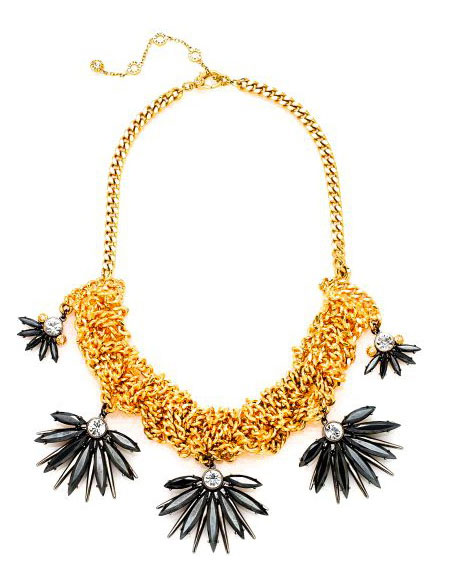 Waldorf necklace from Henri Bendel