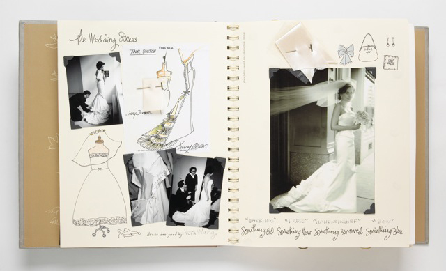 darcy miller our wedding scrapbook dress