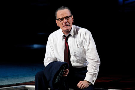 Bryan Cranston in All the Way on Broadway