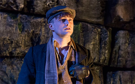 Daniel Radcliffe in The Cripple of Inishmaan on Broadway