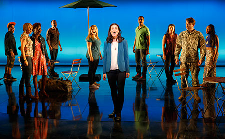 Idina Menzel in If/Then on Broadway