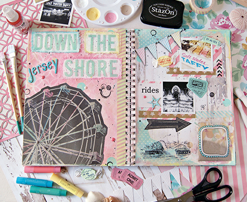 new jersey shore scrapbook