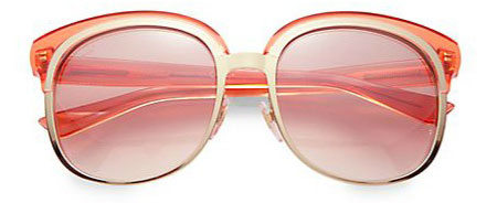Gucci rose-and-gold sunglasses