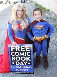 Free Comic Book Day costumes
