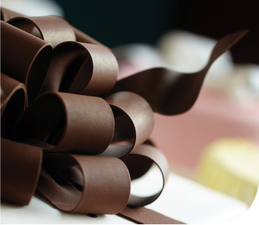 chocolate ribbon