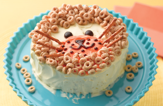 Lion Birthday Cake