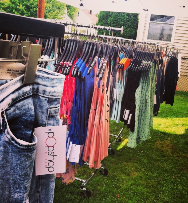 pop-up shopping event