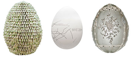 Faberge easter hunt eggs