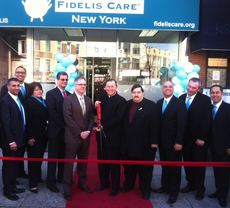 fidelis care ridgewood ribbon cutting ceremony