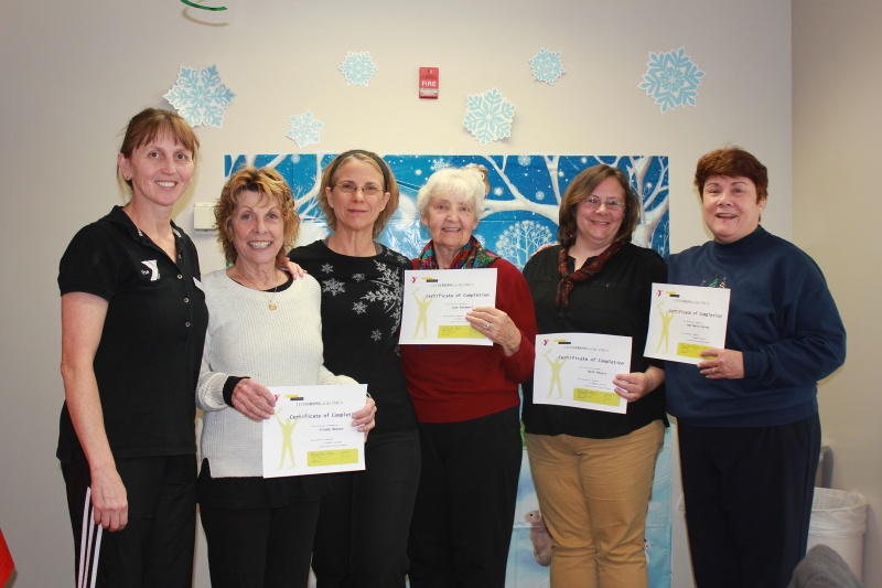 new canaan ymca's livestrong at the ymca graduates