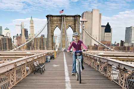 Bike and Roll tours NYC