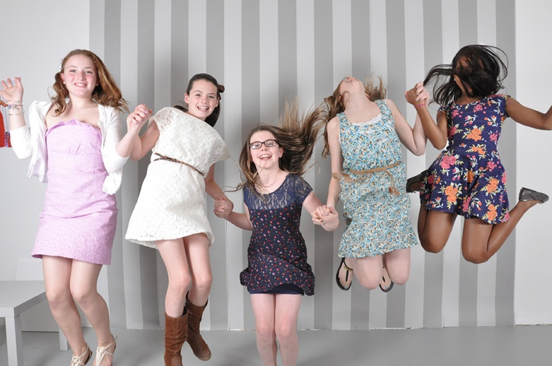 tween girls photo shoot
