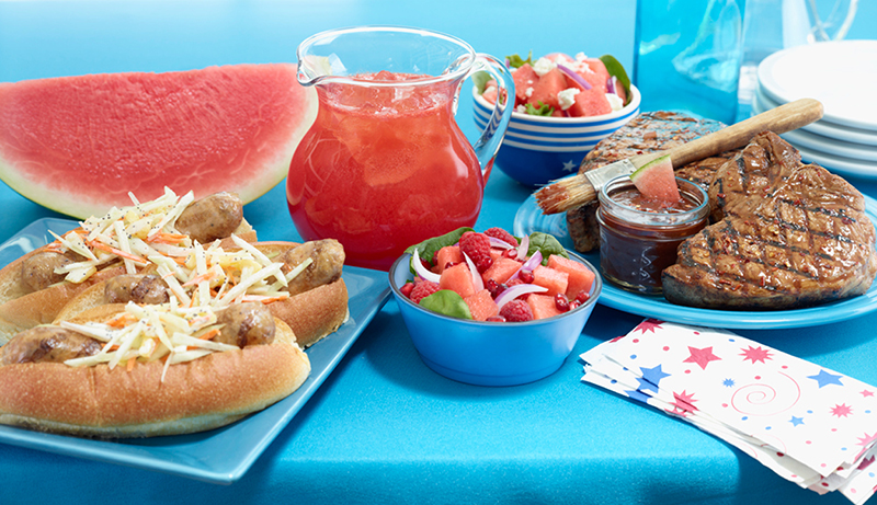 summer recipes with watermelon