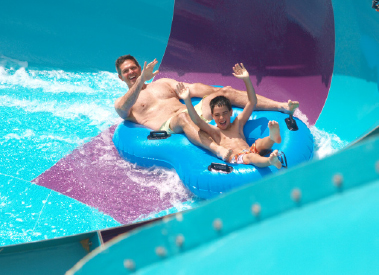 quassy bullet bowl water ride