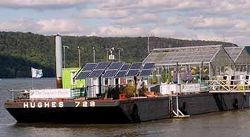 the science barge in yonkers