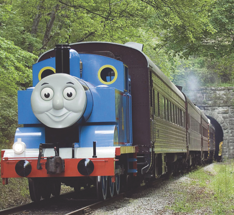 real life thomas the train