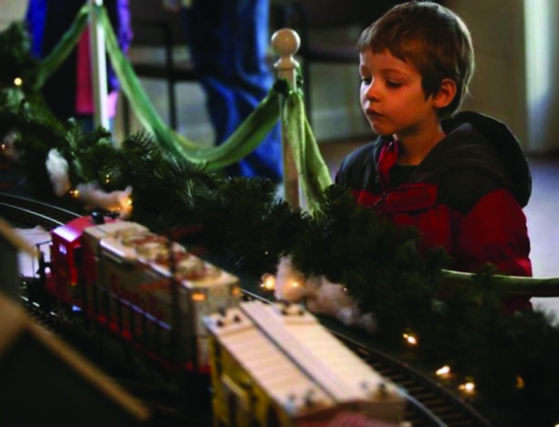 fairfield ct holiday train show