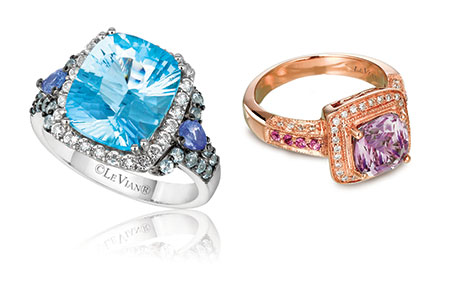 LeVian candy-colored rings
