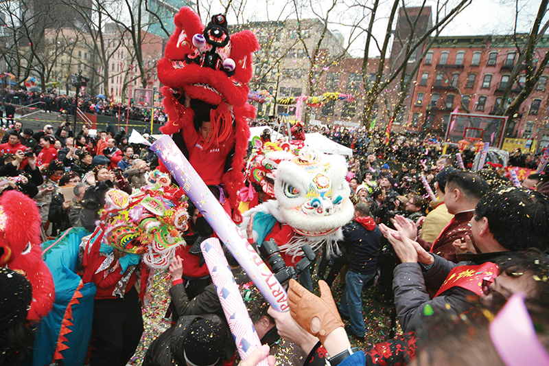 chinese new year nyc