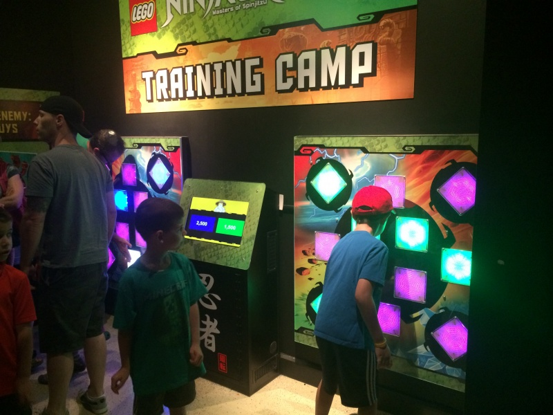 legoland discovery center ninjago laser training camp