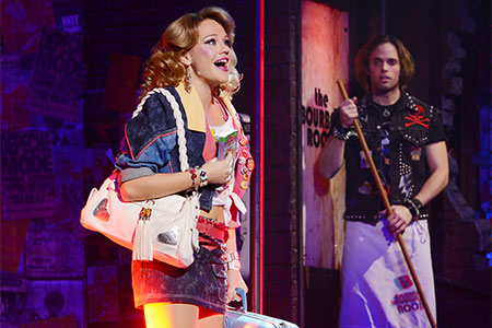 Carrie St. Louis in Rock of Ages on Broadway