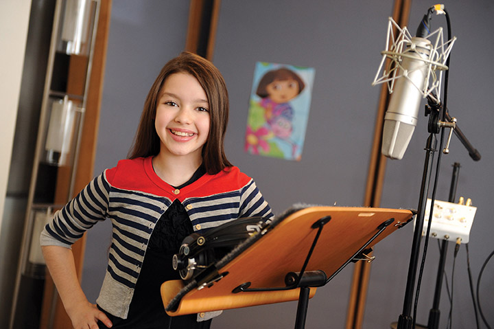 Fatima Ptacek, voice of Dora the Explorer