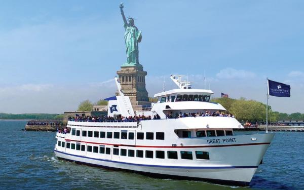 hornblower statue of liberty cruise