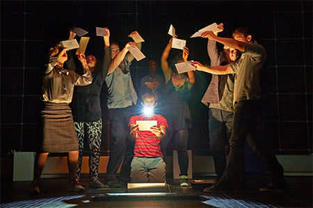The Curious Incident of the Dog In the Night-Time on Broadway