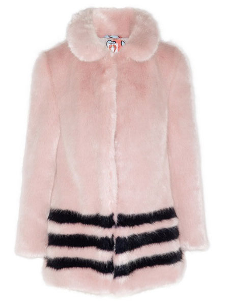 Hannah Weiland Shrimps faux-fur Dulcie jacket