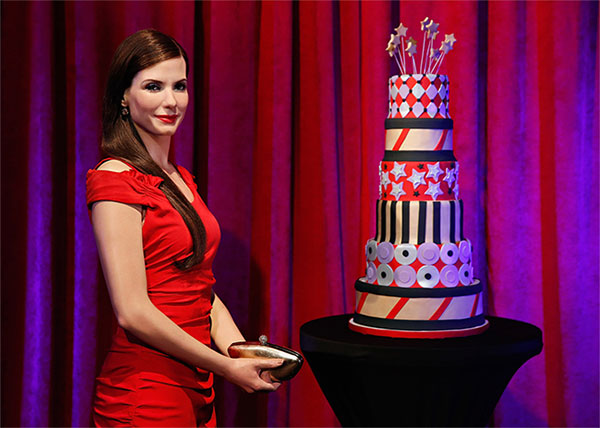 Sandra Bullock at Madame Tussauds NYC