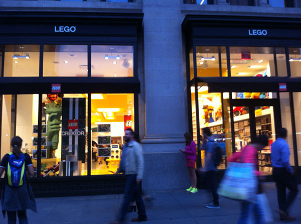 LEGO Opens Flagship Store in NYC's Flatiron District