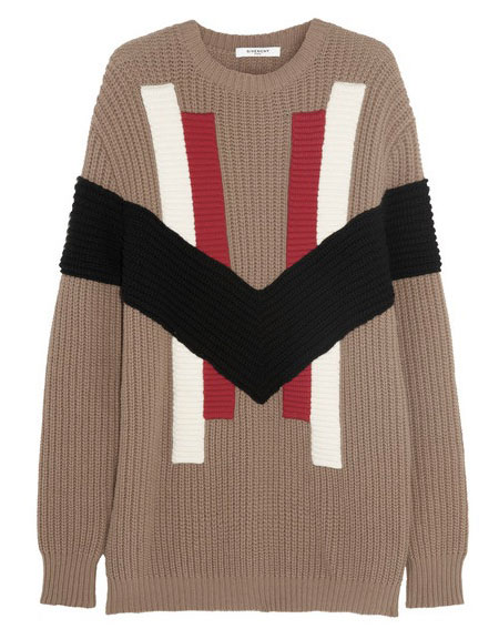 Givenchy chunky wool-and-cashmere sweater
