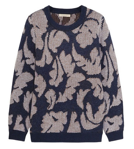 Burberry Brit jacquard knit sweater
